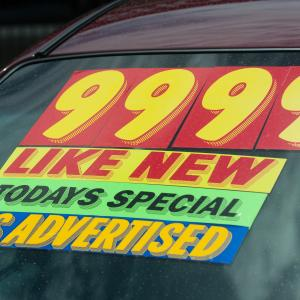 Smart Consumer Checklist for Buying a Used Car