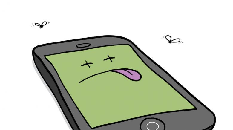 fix broken smartphone